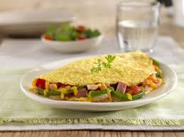 A Great Veggie Omelet