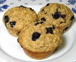 Oatmeal Field Berry Muffins