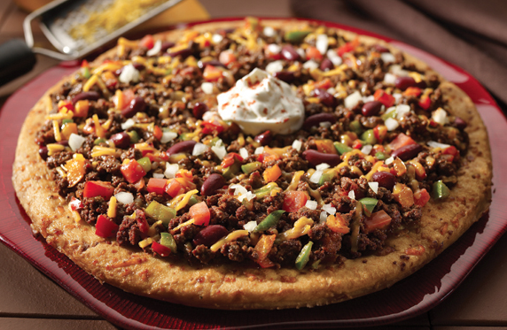 Ideal Protein Recipes - Chili Pizza