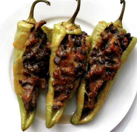 Ideal Protein Recipes - Stuffed Chili Peppers