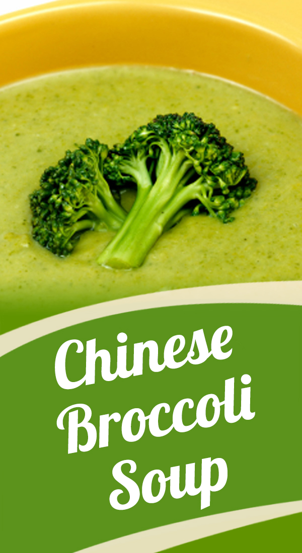 Chinese Broccoli Soup - Nutrition World