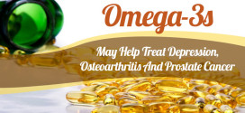 Omega-3s May Help Treat Depression, Osteoarthritis And Prostate Cancer