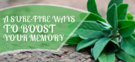 A Sure-Fire Ways To Boost Your Memory