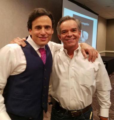 Dr. Robert Silverman and Ed Jones