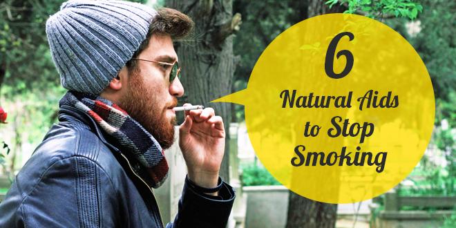 6 Natural Aids to Stop Smoking
