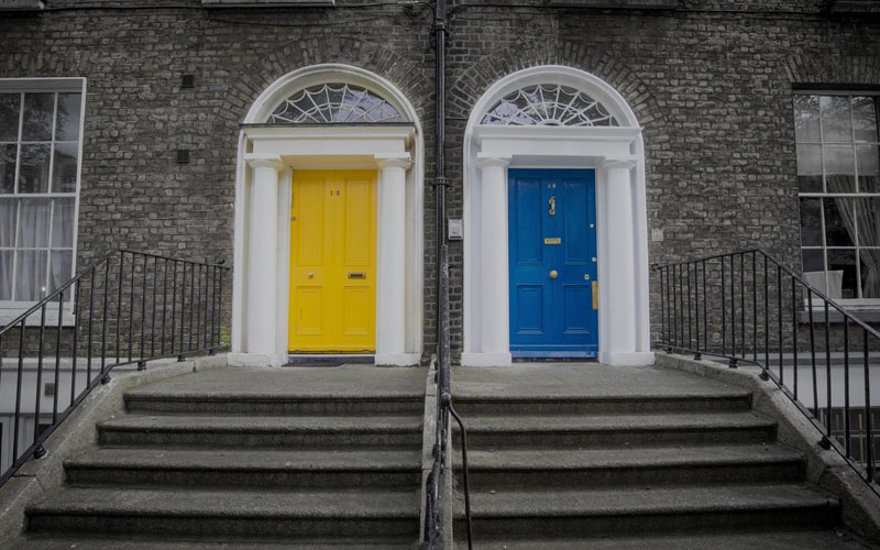 two doors: traditional or holistic
