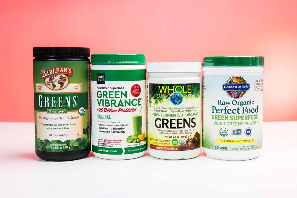 Greens with probiotics in their containers like they come in the core 4 autoship