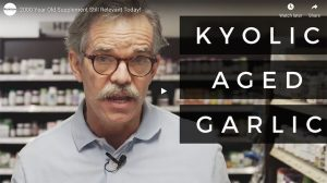 Kyolic Aged Garlic Video Thumbnail featuring Ed Jones, founder of Nutrition World