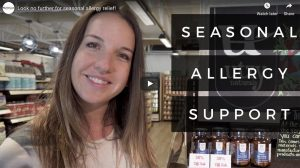 Cady talks us through seasonal allergy support