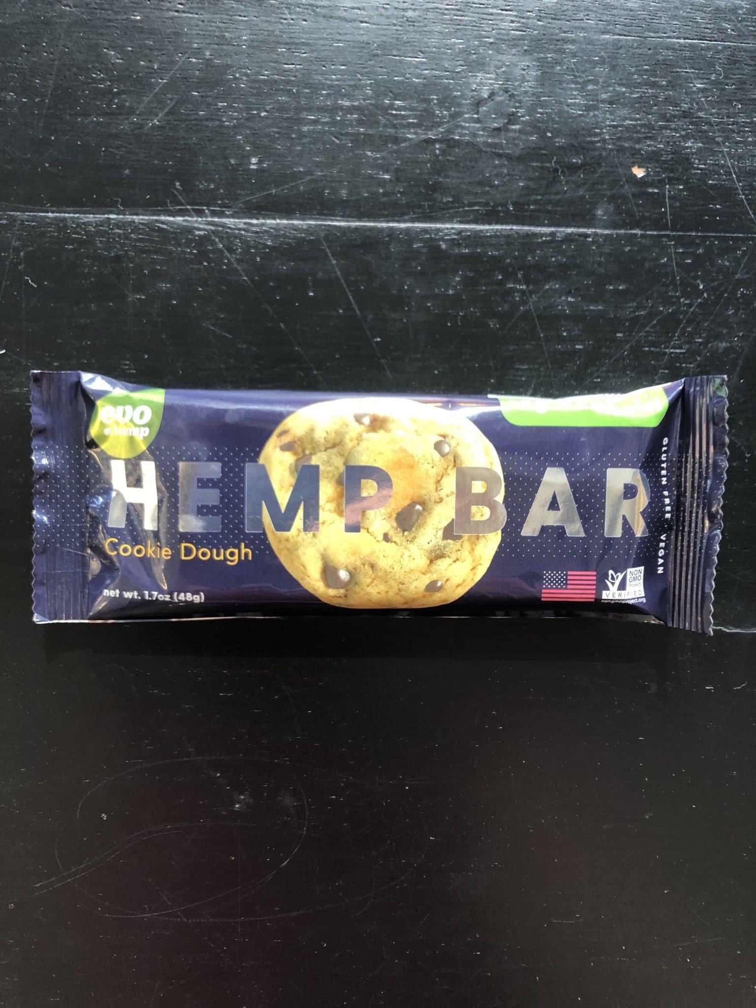 Hemp Bar Cookie Dough Product Photo