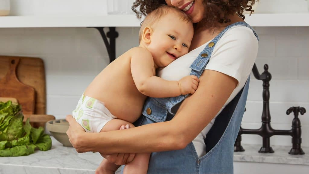 mom and baby lactation support