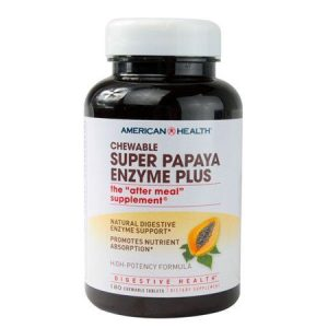 Chewable Papaya Enzyme Support Supplements