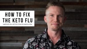 Fix the Keto Flu with Adam in the video studio