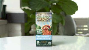 box of host defense cordychi organic mushroom supplement blend